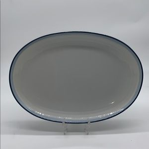 Pfaltzgraff Sky Blue 14 x 10 Oval Serving Platter